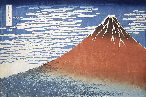 Mount Fuji Canvas Print by Hokusai