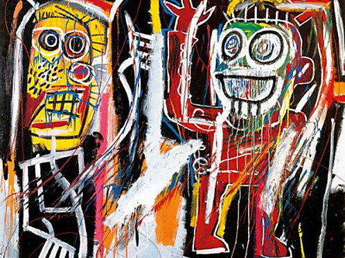 Dustheads Poster by Jean-Michel Basquiat