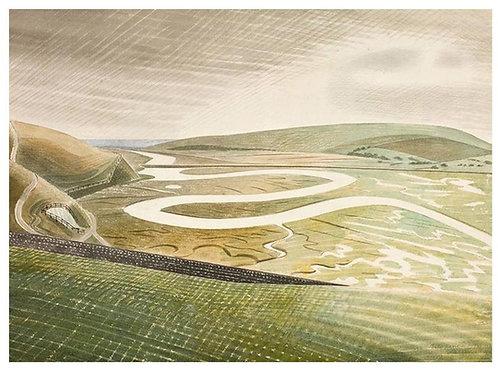 Cuckmere Haven Print Eric Ravilious