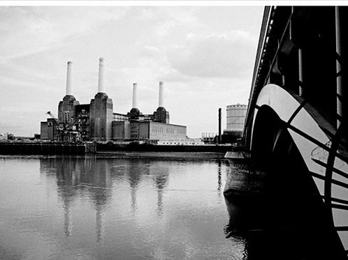Battersea Power Station Print on Canvas