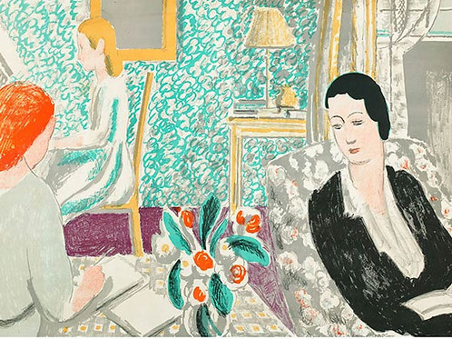 The Schoolroom Limited Edition Print by Vanessa Bell