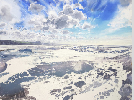 Michael Sole's Dramatic Seascape Paintings