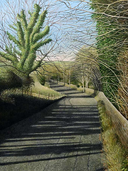 The Road to Glyndebourne Print by Peter Messer