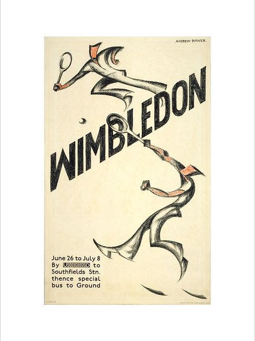 Old Wimbledon Posters UK