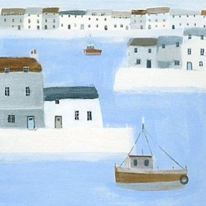 Harbour Walls Canvas Hannah Cole