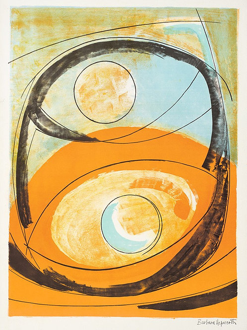 Genesis Art Print by Barbara Hepworth