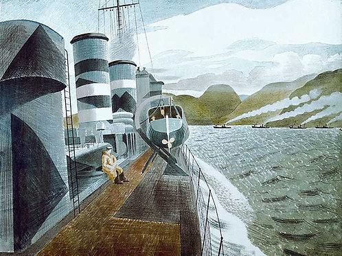 Leaving Scapa Flow Art Print