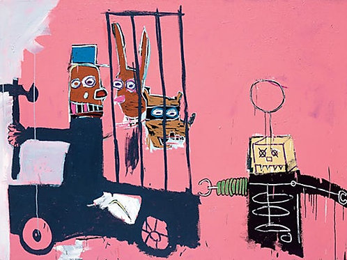Molasses Poster by Jean-Michel Basquiat UK