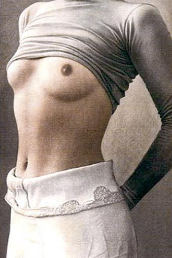 Stehender Halbakt Etching by Willi Kissmer