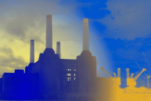Battersea Power Station Art Print