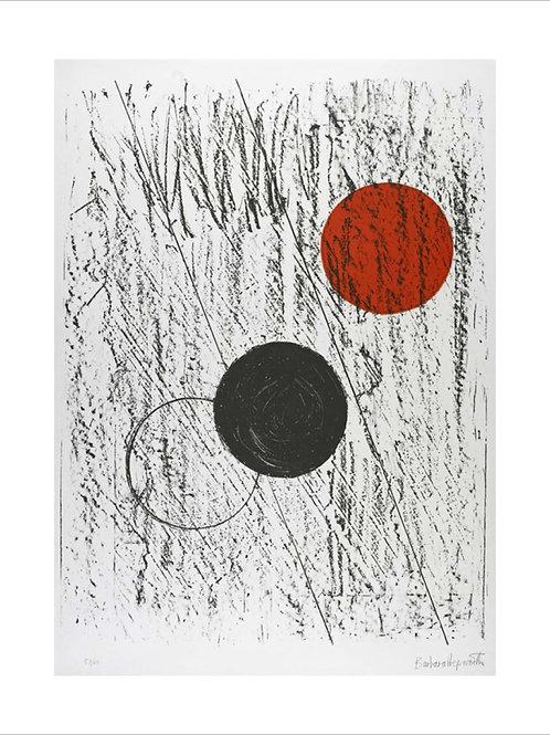 Sun and Moon Print Barbara Hepworth