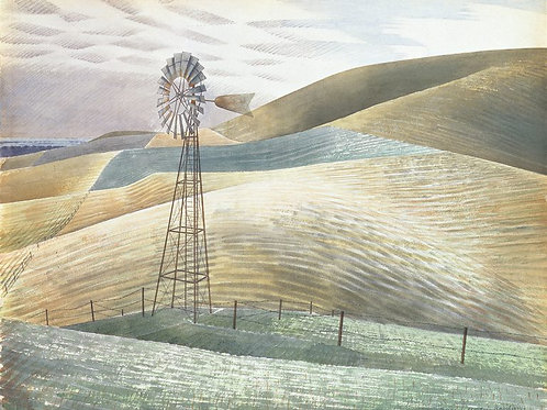 South Downs Paintings Eric Ravilious