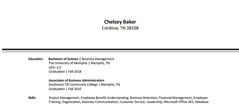 Chelsey Baker