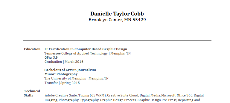 Danielle Cobb
