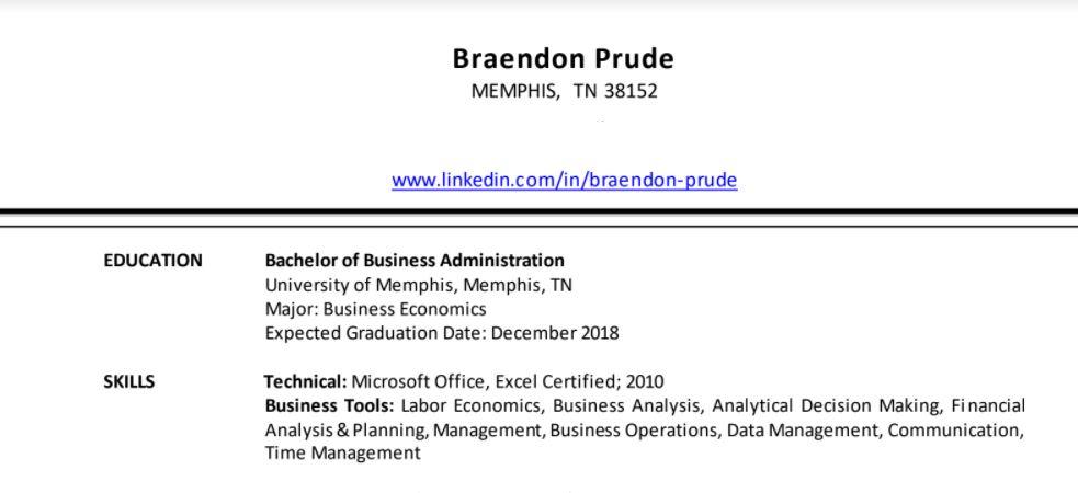 Braendon Prude