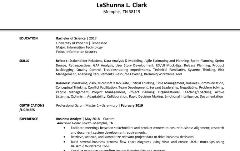 LaSunna Clark