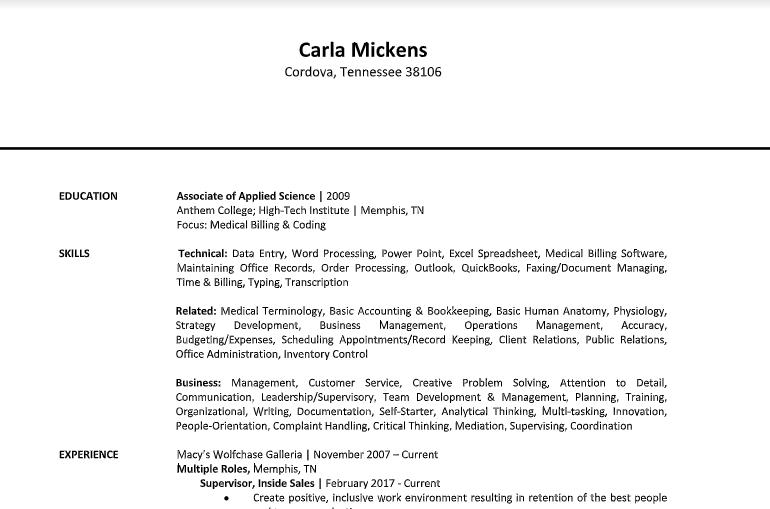 Carla Mickens