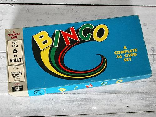 Somerville Bingo Game