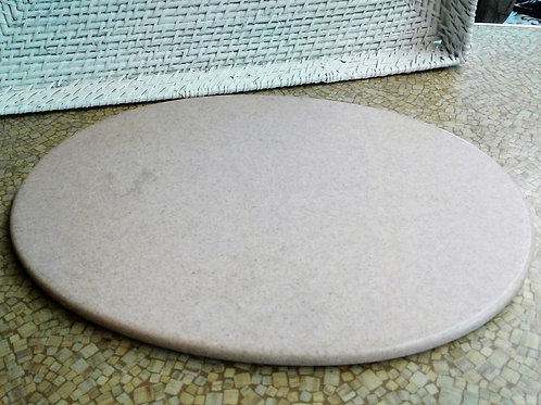 Quartz Oval Tray - Beige