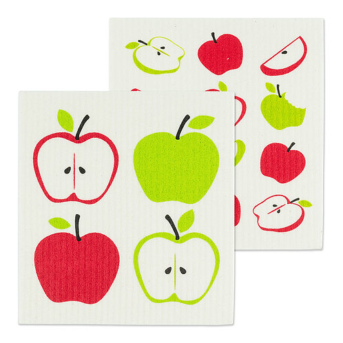 Apples Swedish Dishcloths