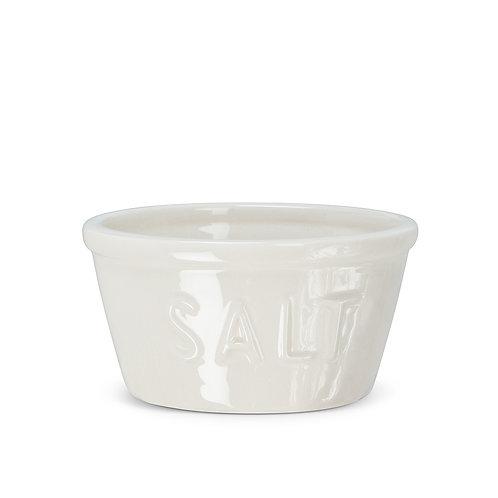 """Simple Salt Cup with """"SALT"""""""