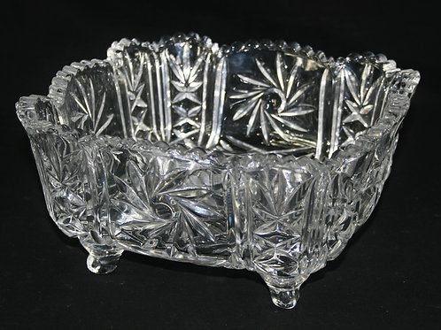 Square Bohemia Crystal Bowl