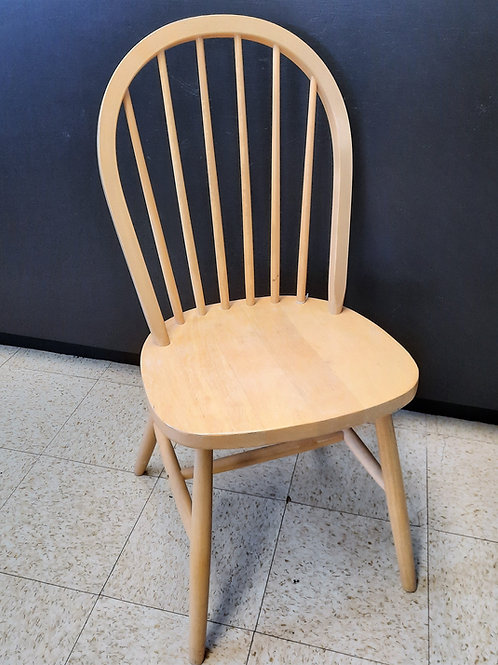 Ladder Back Chair Beige
