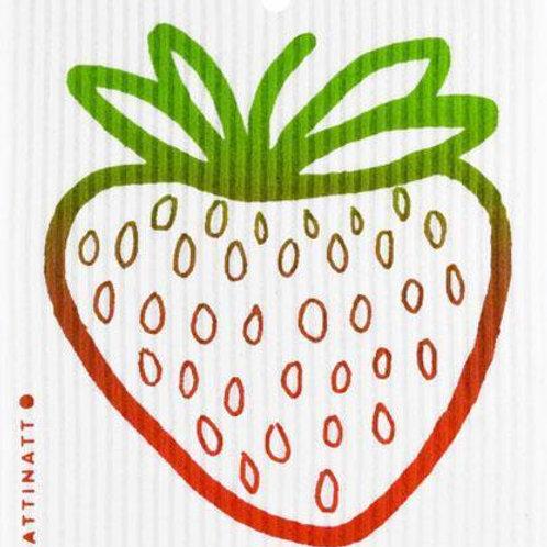Swedethings Swedish Dish Cloth - Strawberry