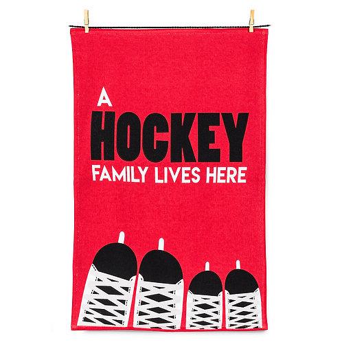 Hockey Family Tea Towel