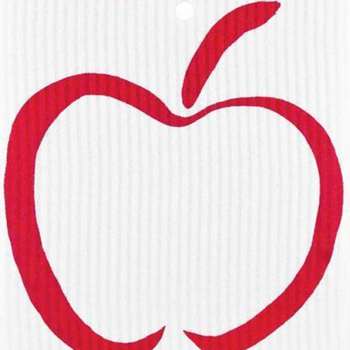Swedethings Swedish Dish Cloth - Apple Red