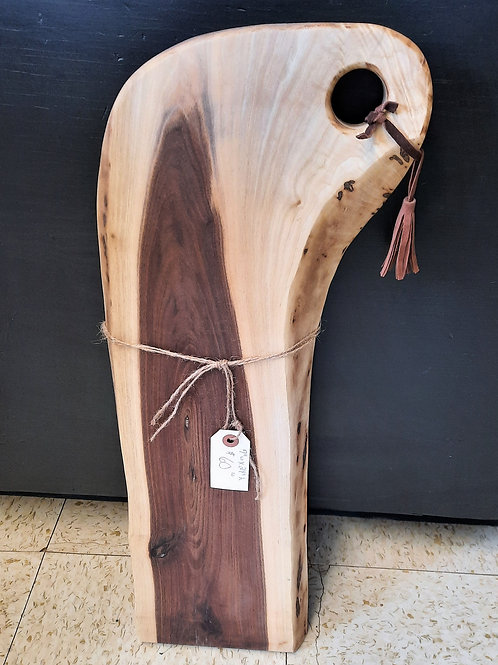 Walnut Charcuterie Board with Handle
