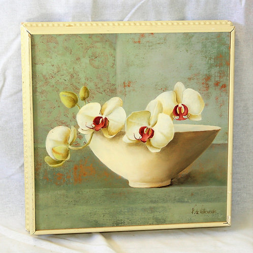 Orchid Blossom in Bowl