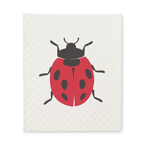 Ladybug Swedish Dishcloths - Set of 2