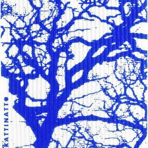 Swedethings Swedish Dish Cloth - Branches Blue
