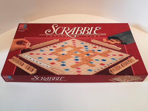Milton Bradley Scrabble Game - Like New!