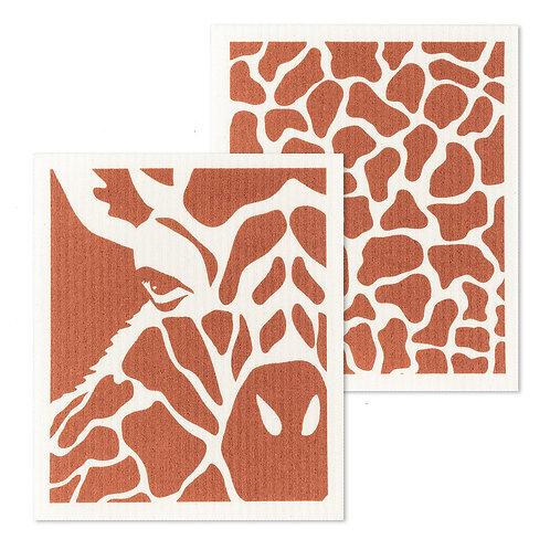 Giraffe Swedish Dishcloths