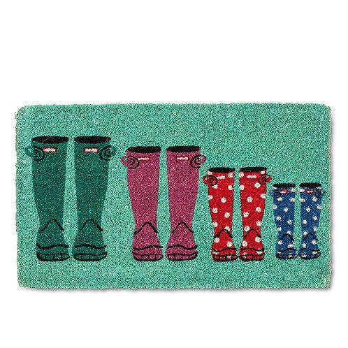 Rubber Boots Door Mat