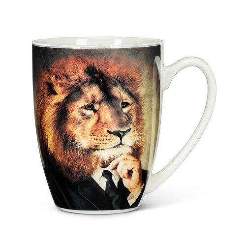 Majestic Dressed Lion Mug