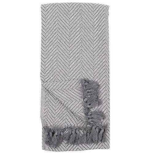 Large Fishbone Turkish Towel