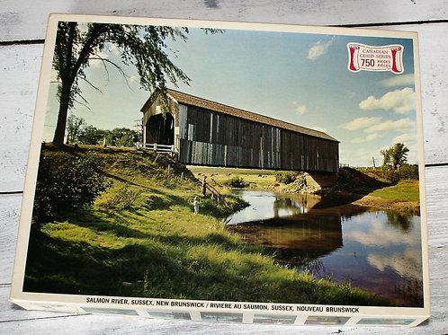 Covered Bridge Puzzle Sussex, NB