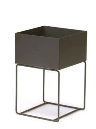copy of Dark Grey Metal Plant Stand - Large