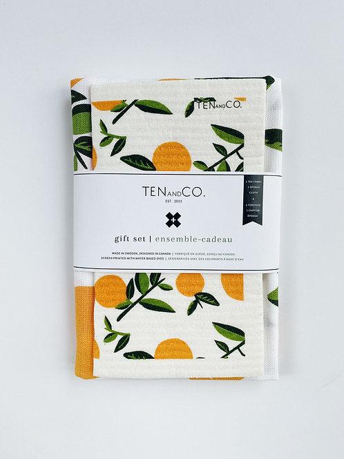Ten & Co. Gift Set - Citrus Orange