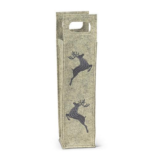 Leaping Deer Wine Bag