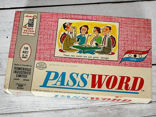 Milton Bradley PassWord Game