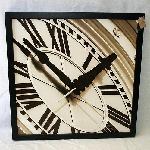 Large Close Up of Clock