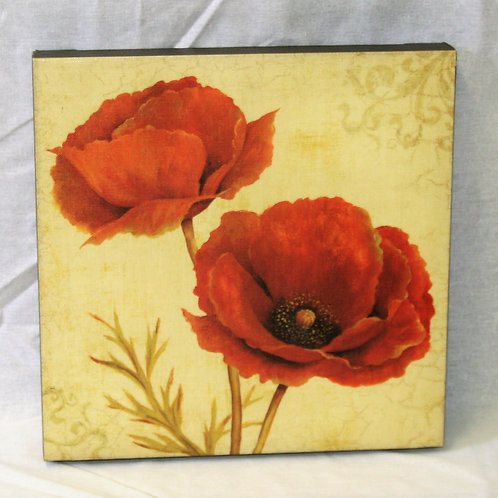 Red & Orange Poppies