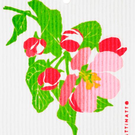 Swedethings Swedish Dish Cloth - Apple Blossom