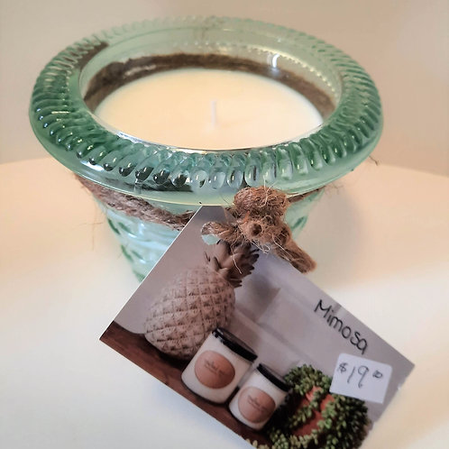 Crafted Zen 8 oz. Candles in Spain Jars