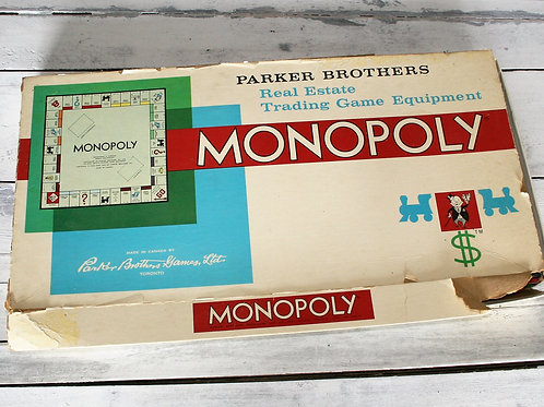 Monopoly Game - Poor Condition