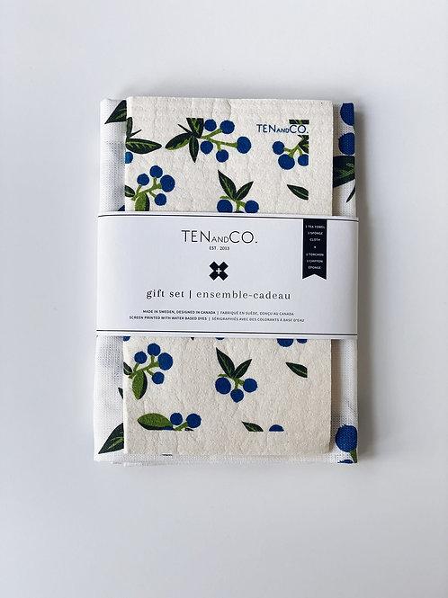 Ten & Co. Blueberry Gift Set